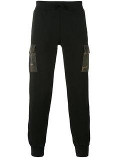спортивные брюки с накладными карманами Hydrogen