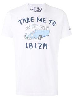 футболка с принтом  Ibiza Mc2 Saint Barth