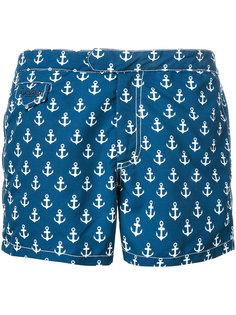 шорты для плавания с принтом якорей Mc2 Saint Barth