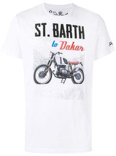 футболка с принтом Dakar Mc2 Saint Barth