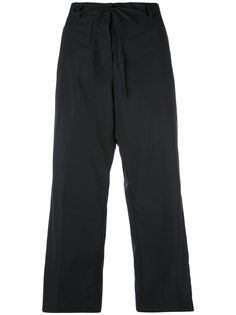 укороченные расклешенные брюки Aspesi