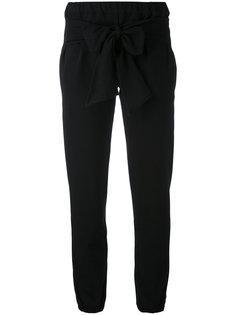 брюки с поясом на завязках Eleventy