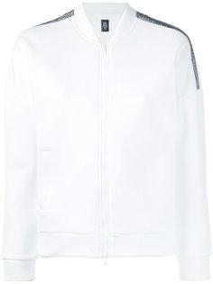 спортивная куртка с полосками из стразов Eleventy