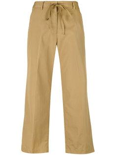 расклешенные укороченные брюки Aspesi