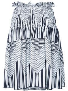 юбка с графическим принтом MSGM
