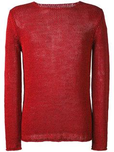 свитер рыхлой вязки Roberto Collina
