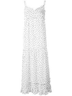 платье в горох McQ Alexander McQueen