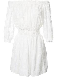 платье с открытыми плечами Rebecca Taylor