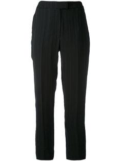 укороченные брюки в полоску  Cacharel