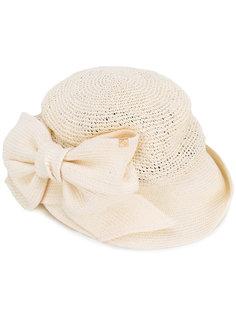 плетеная шляпа с бантом Ca4la