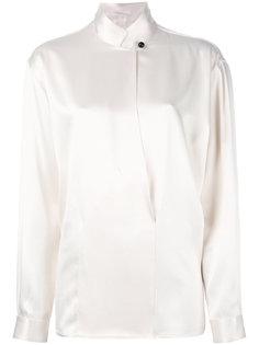 блузка с воротником на пуговицах Giorgio Armani Vintage