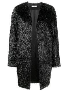пальто с фактурной отделкой Lanvin