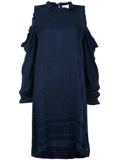 платье с вырезами на плечах Cecilie Copenhagen