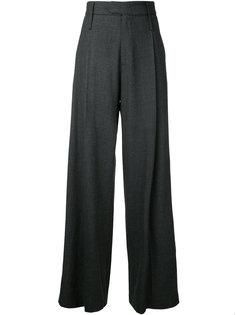 плиссированные брюки Bassike
