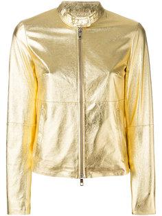 куртка с отделкой металлик Desa Collection