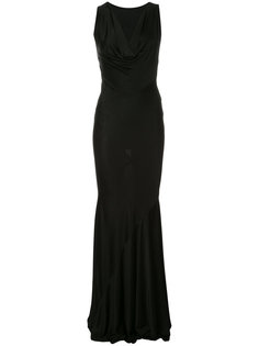 платье с глубоким вырезом Alexandre Vauthier