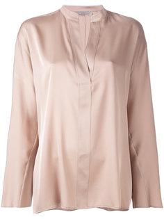 блузка с вырезом на горловине Vince