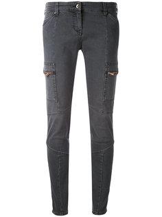 джинсы скинни с панельным дизайном Armani Jeans