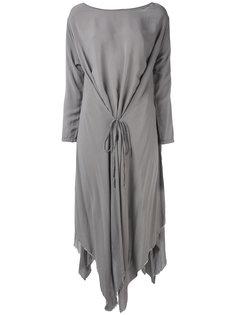 платье с драпировками Poème Bohémien