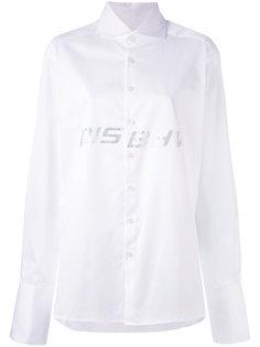 декорированная рубашка с логотипом Misbhv