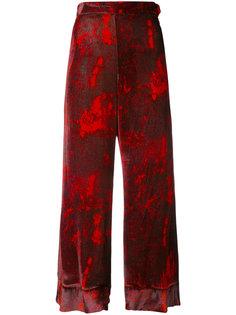 укороченные брюки с завышенной талией Ellery