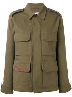 куртка в стиле милитари с вышивкой Ava Adore