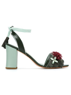 leather sandals Sarah Chofakian