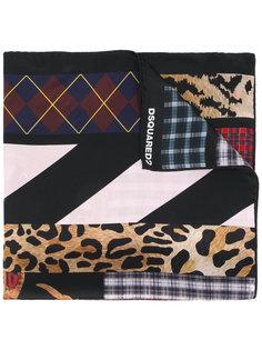платок с принтом Dsquared2