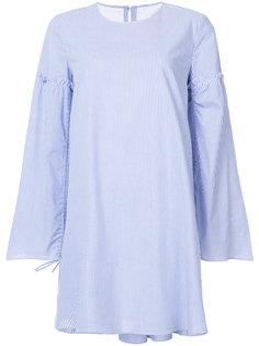 платье-шифт в полоску Tibi