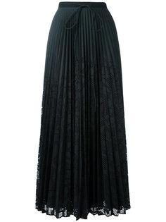 длинная плиссированная юбка Veronique Branquinho