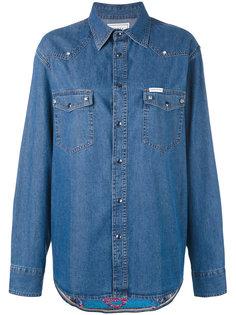 джинсовая рубашка Forte Couture
