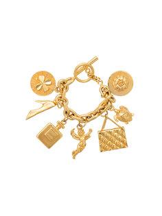 браслет с семью шармами Chanel Vintage