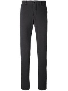 брюки прямого кроя из ткани пике Lardini