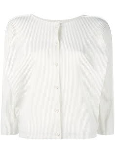 укороченный пиджак в рубчик Issey Miyake Cauliflower