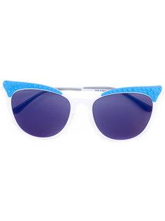 солнцезащитные очки с контрастными деталями Italia Independent