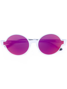 солнцезащитные очки в круглой оправе Italia Independent