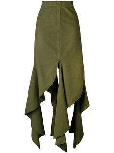 юбка с асимметричным подолом J.W.Anderson