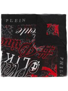printed scarf Philipp Plein