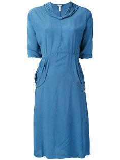 платье с V-образным вырезом Loewe