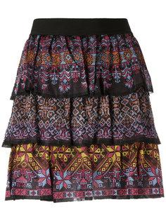 ruffled mini skirt Cecilia Prado