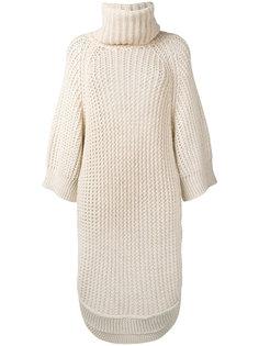 удлиненный свитер с высоким горлом Chloé