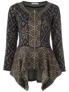 peplum knit jacket Cecilia Prado