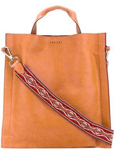 массивная сумка на плечо Orciani