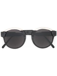 солнцезащитные очки с круглой оправой Kuboraum