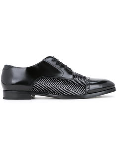 туфли с твидовыми панелями Jimmy Choo