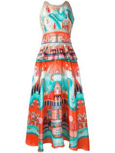 платье с баской Nymph  Temperley London