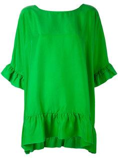 блузка с оборками P.A.R.O.S.H.