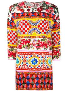 топ с принтом Dolce & Gabbana