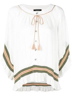 блузка свободного кроя Roberto Collina