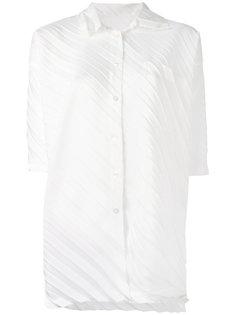 плиссированная  рубашка Issey Miyake Cauliflower
